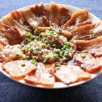甘めのタレが美味しい豚丼