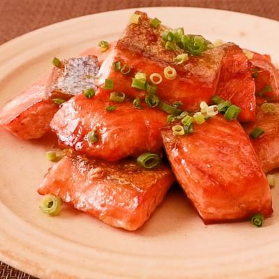 ごはんに合う 鮭のオイバタ焼き