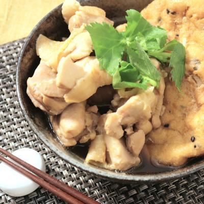 じゅわっと旨い がんもどきと鶏肉の煮物