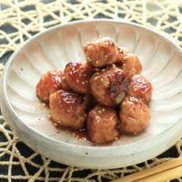 フライパンで簡単 肉団子の甘酢ダレ