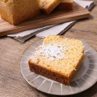 バター不要 ピーナツクリームとアーモンドのパウンドケーキ