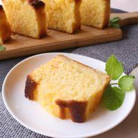 ふんわり香る 桃のパウンドケーキ