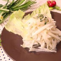 ホタテと大根のサラダ