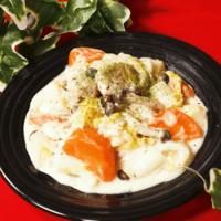 お鍋1つで簡単!鶏と白菜のクリーム煮