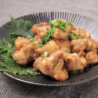 ガーリック香る 鶏もも肉のマヨポン炒め