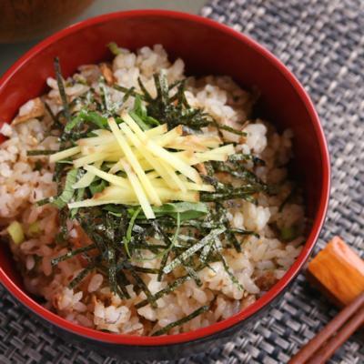 薬味たっぷり 山椒も香るサンマの缶詰め混ぜご飯