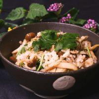 きのことツナの簡単美味しい混ぜご飯!