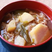 山形の郷土料理 芋煮