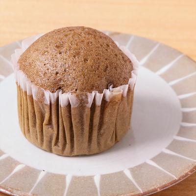 ほうじ茶豆乳蒸しパン