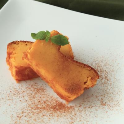 混ぜて焼くだけ かぼちゃのプリンケーキ