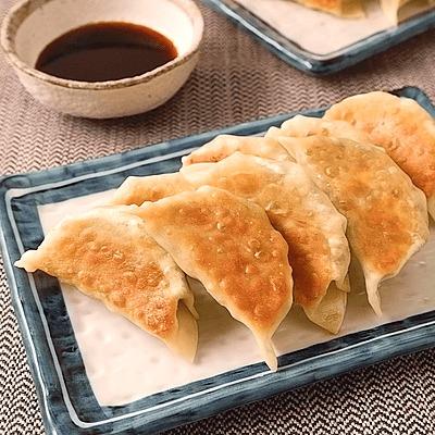 大葉たっぷり大豆ミート焼き餃子