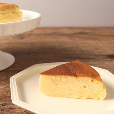 豆腐とクリームチーズのふわふわスフレチーズケーキ