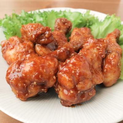 コチュジャンでピリ辛 韓国風チキン
