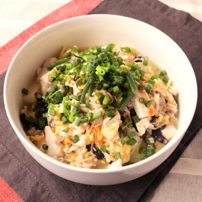 えのきと豆腐が主役 おうちでサンラータン麺