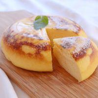 炊飯器でふんわりふっくらチーズケーキ