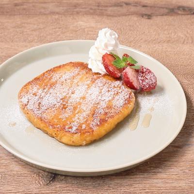 パン粉でお手軽 フレンチトースト