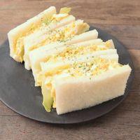 明太チーズ風味のたまごサンド