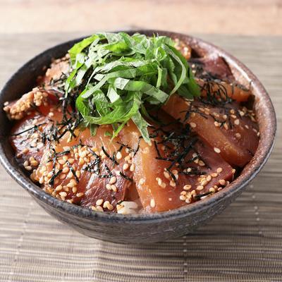 絶品 ごまハマチ丼