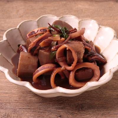 京いもとイカのほっこり煮