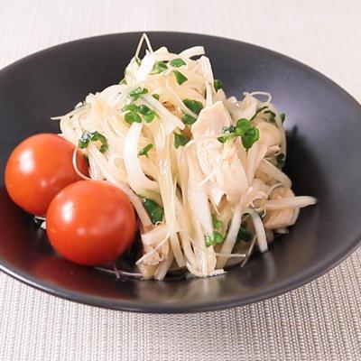 大根とスプラウトのシャキシャキ中華風サラダ