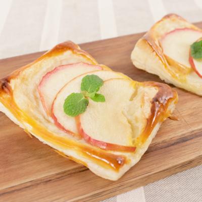 りんごの簡単チーズクリームパイ