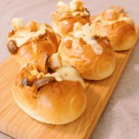 残ったカレーで作る 焼きカレーパン