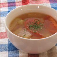 冬瓜とトマトのやさしいスープ