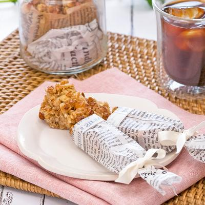 ひんやり美味しい メープル風味のグラノーラバー