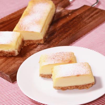 簡単!パウンド型チーズケーキ