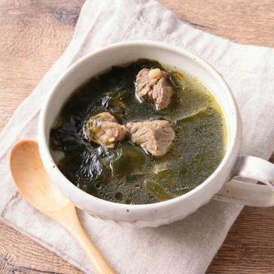 本格韓国風 わかめスープ