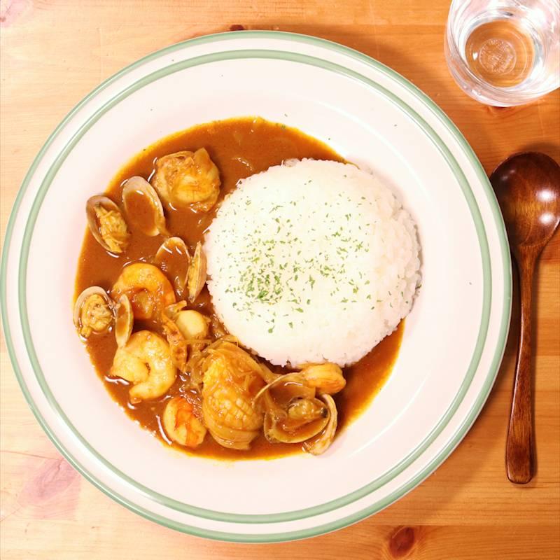 レシピ シーフード カレー