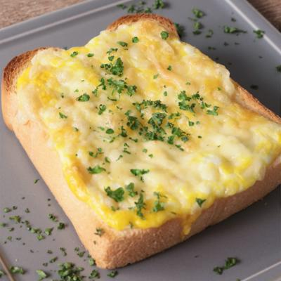 簡単 カルボナーラ風トースト