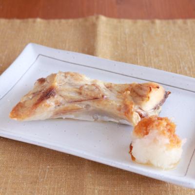 トースターで作る ぶりかまの塩焼き