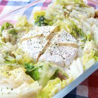 レンジで簡単 白菜のチーズクリーム煮
