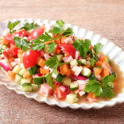 赤カブのチョップドサラダ