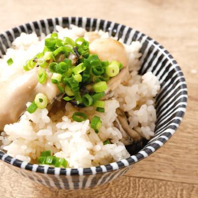 簡単牡蠣の炊き込みご飯