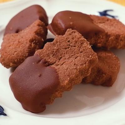 ココア風味ショコラちんすこう
