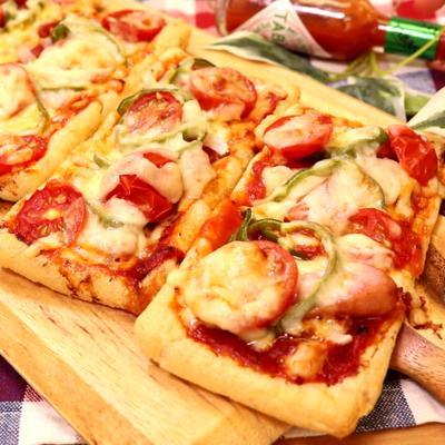 アイディア満点!油揚げピザ