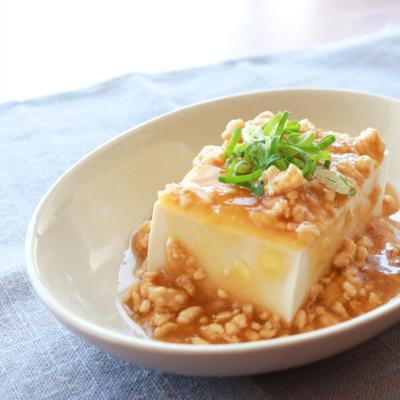 鶏 ひき肉 豆腐