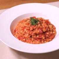 もち麦のトマトリゾット