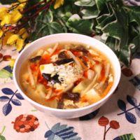 簡単に作れるサンラー湯