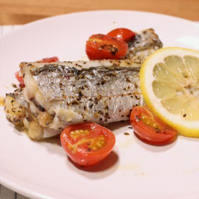 太刀魚のレモンバタームニエル