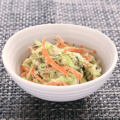 千切り野菜の和風コールスロー