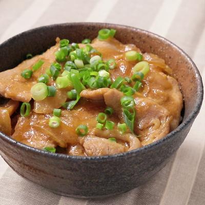 甘辛豚カルビ丼