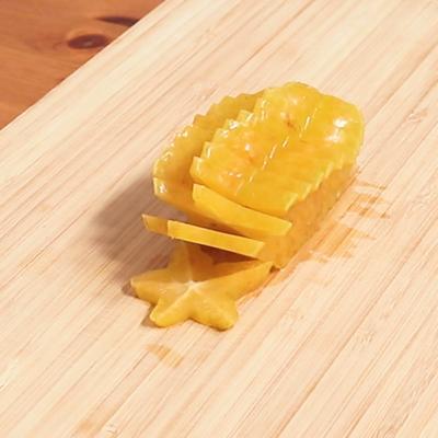 スターフルーツの切り方
