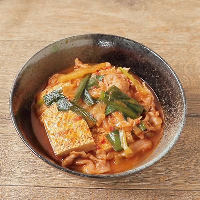 韓国風ピリ辛肉豆腐