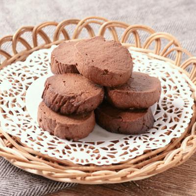 簡単 焼きチョコクッキー