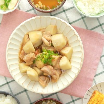 ほっこり 鶏肉と里芋の煮物