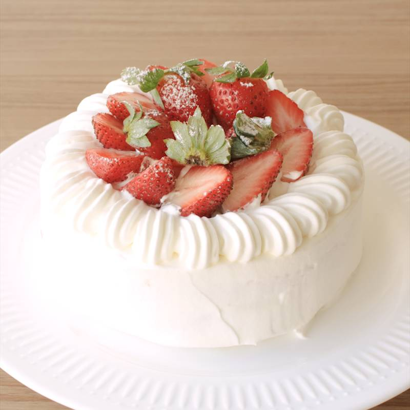 ケーキ デコレーション いちご