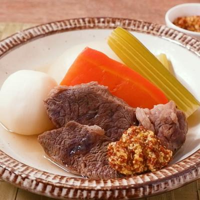 ビストロ風牛肉のポトフ